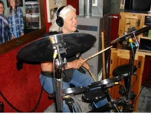 Judy on Drums Reunion 1