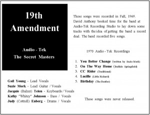 Secret Masters-CD Sheet