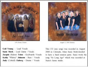 So Long Ago-CD Sheet