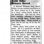 Record Announcement January 1964