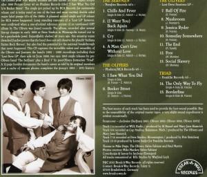 Olivers CD Back002
