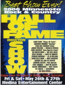 Hall of Fame Induction Flyer