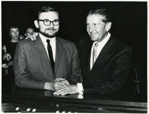 Paul with Lawrence Welk
