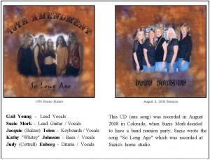 So Long Ago-CD Sheet