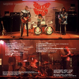 LP Cover BACK