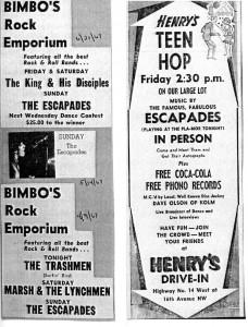 Bimbo's and Henry's ad