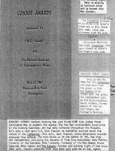 Connie Awards1967
