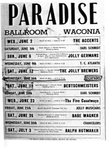 Paradise Ballroom Poster