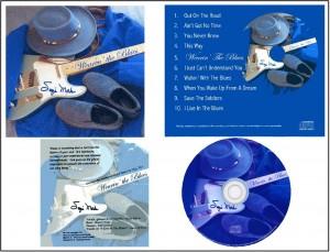 Wearin' The Blues CD Info Sheet
