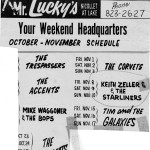 Mr Lucky's ad 1963