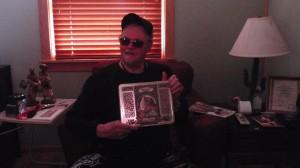 Jim Johnson with Gypsy Tin Box