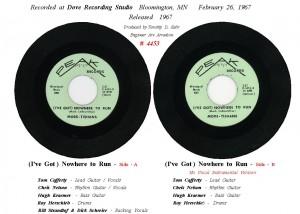 45 Record Info Sheet