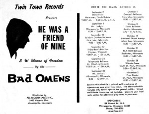 Twin Town Records Flyer