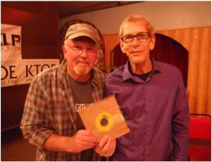Dale & Tom with 45 Record