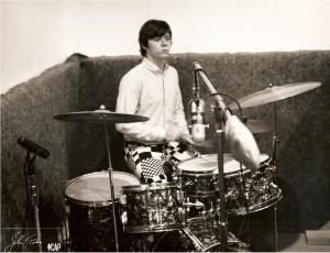 Drummer in Studio 2
