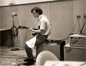 Guitar Player in Studio