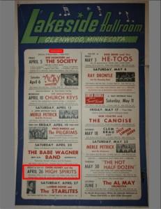 Lakeside Ballroom Poster