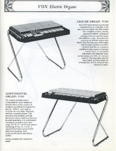 Vox Keyboards ad - P