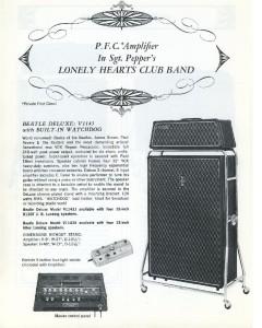 Vox Super Beatle ad - P
