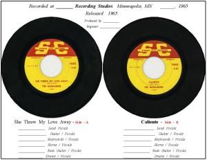 45 - Record Info - Sheet