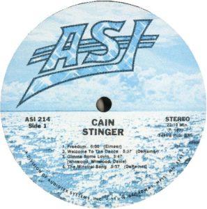 ASI Record Label